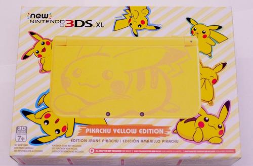 new nintendo 3ds xl pikachu yellow edition nuevo