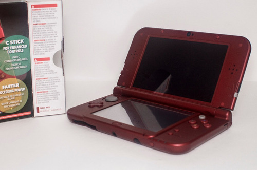 new nintendo 3ds xl + pokemon omega ruby + cargador.