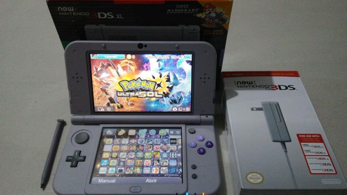 New Nintendo 3ds Xl Snes Ed 130 Juegos 128 Gb Cargador