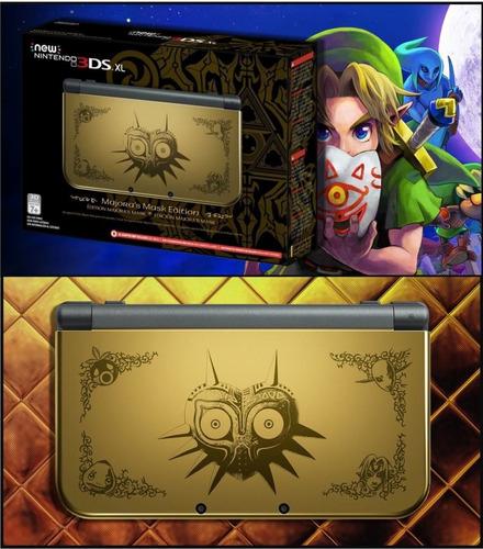 new nintendo 3ds xl zelda majoras mask edition mejora precio