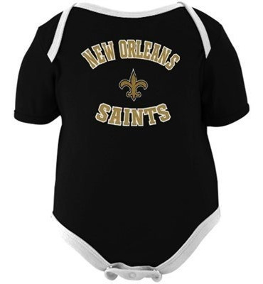 new orleans saints 3-pack pañaleros (12 meses)