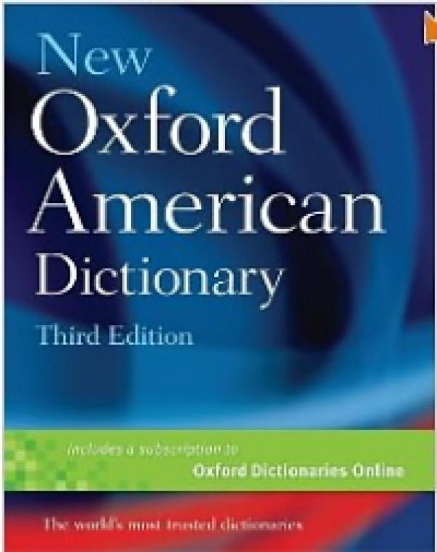 New Oxford American Dictionary - Oxford University Press - U
