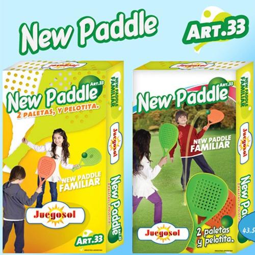 new paddle - juegosol