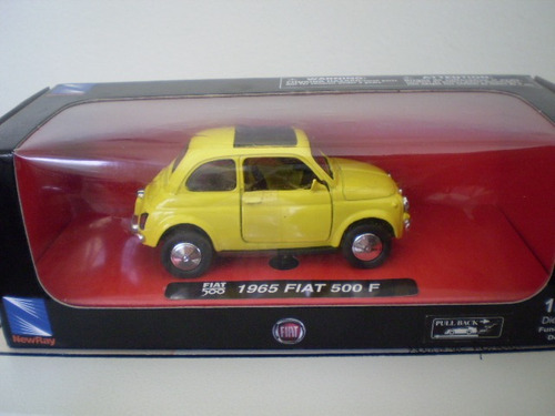 new ray -  1965 fiat 500 f - escala 1/32