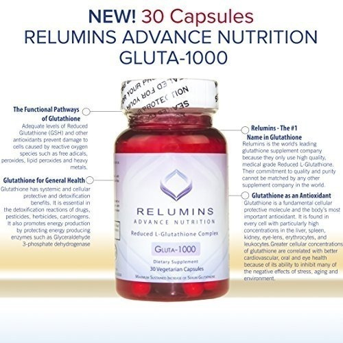 new! relumins premium collagen, glutathione and vitamin c