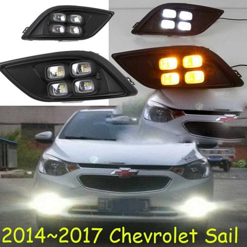 new sail foco led luz de dia - garantia neblinero p13w