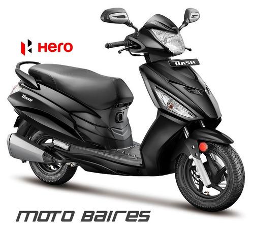 new! scooter hero dash 110 moto 0km 2018 usb cuotas con dni