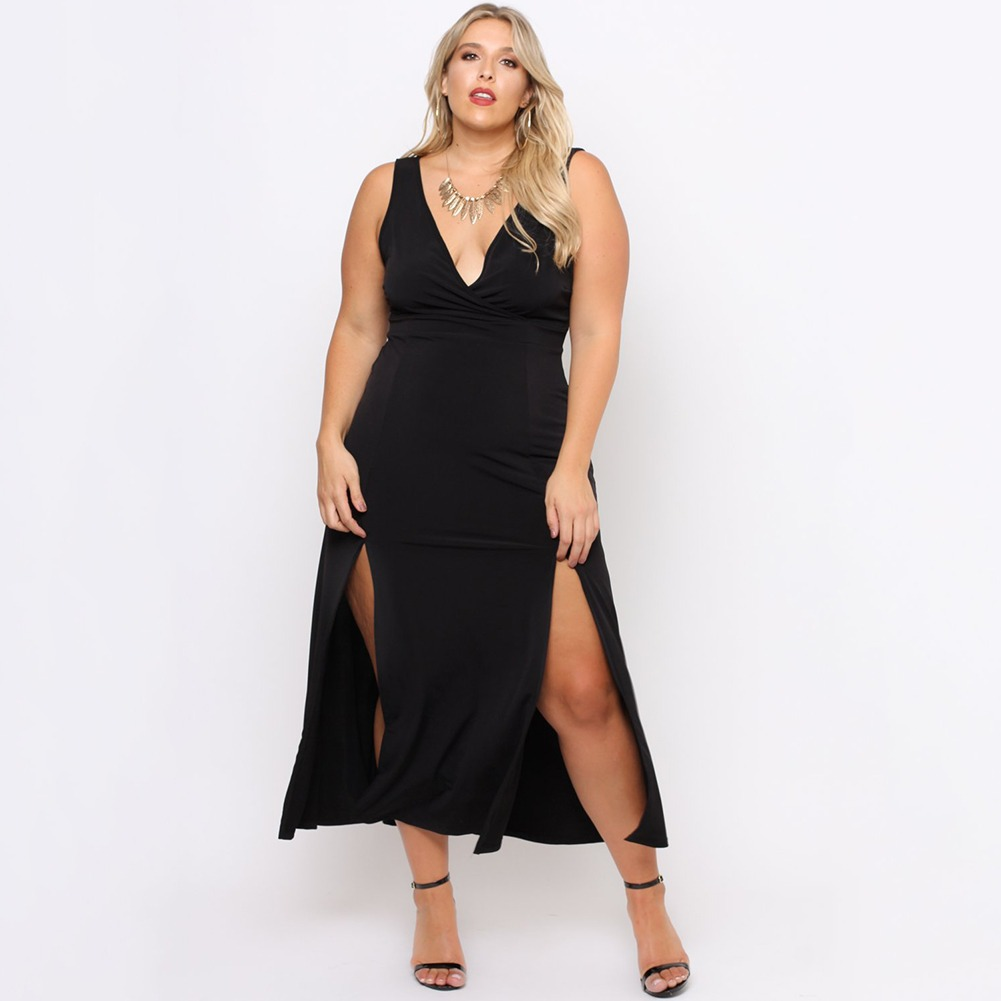 Sexy plus size dresses something