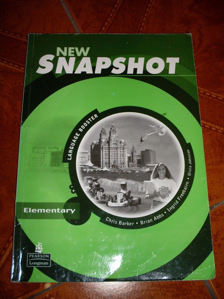 New Snapshot Elementary Students Book