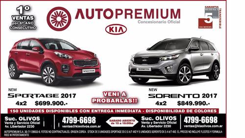 new sorento 4x2 2.4l automaticanaftal 0km 2017