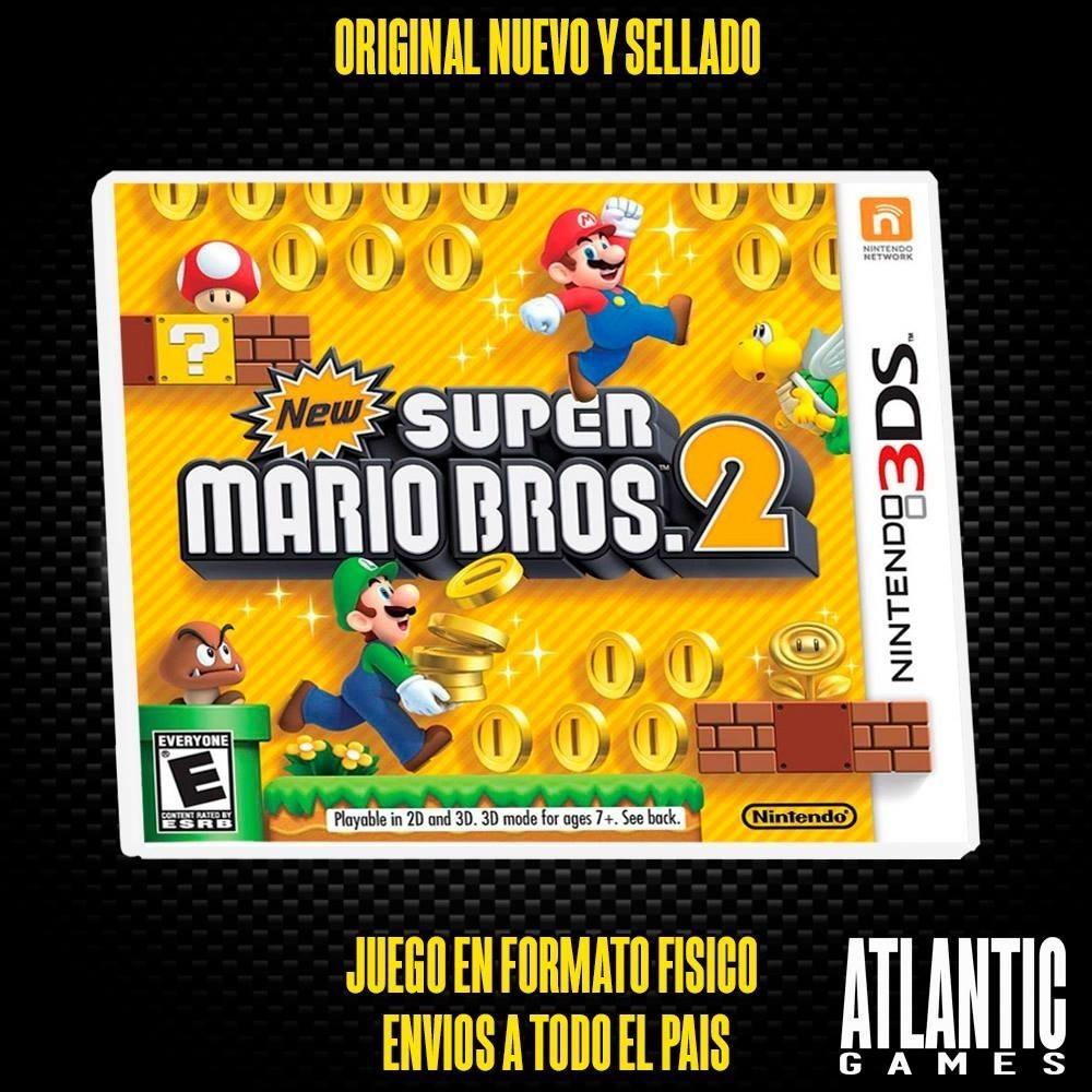 New Super Mario Bros 2 Nintendo 3ds Fisico Sellado 1 299