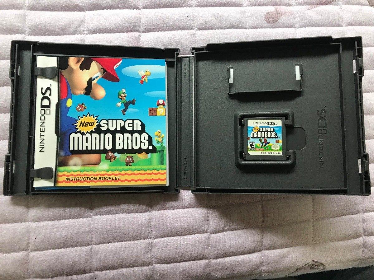 New Super Mario Bros  Nintendo Ds - Original - Completo