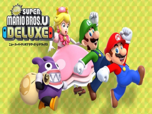 new super mario bros u deluxe// fisico sellado switch//