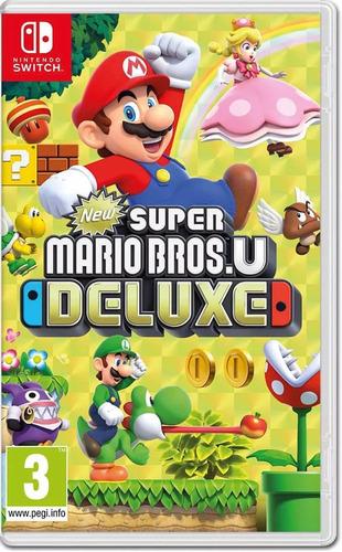 new super mario bros u deluxe nintendo switch.... entrega ya