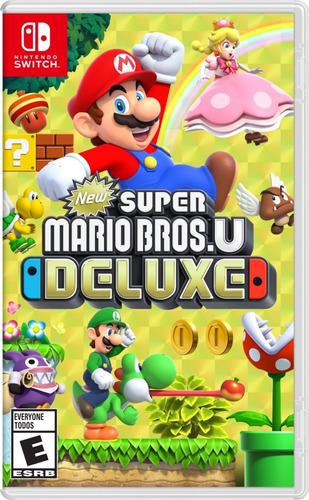 new super mario bros u deluxe nintendo switch fisico.