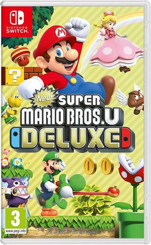 new super mario bros u deluxe nintendo switch juego nuevo