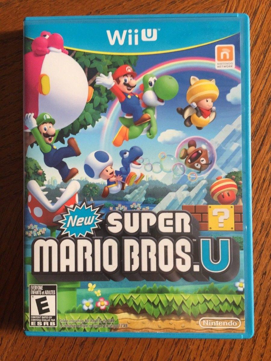 New Super Mario Bros U Juego Wii U S 100 00 En Mercado Libre