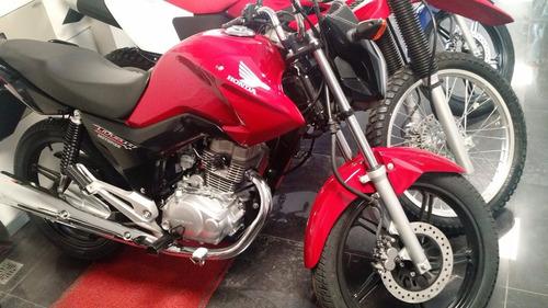 new titan 150 0km - financiada 100% - motopier honda oficial