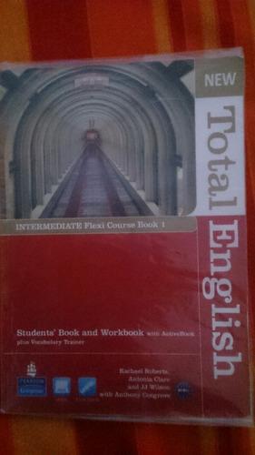 new total english intermediate flexi course 1 pearson cd