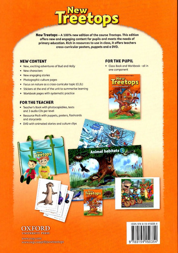 new treetops 1 - class book and workbook
