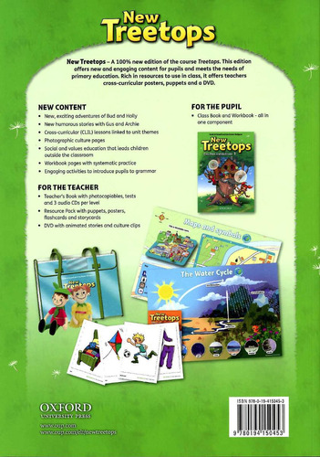 new treetops 3 - class book and workbook
