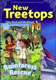 new treetops 4 - class book and workbook - oxford