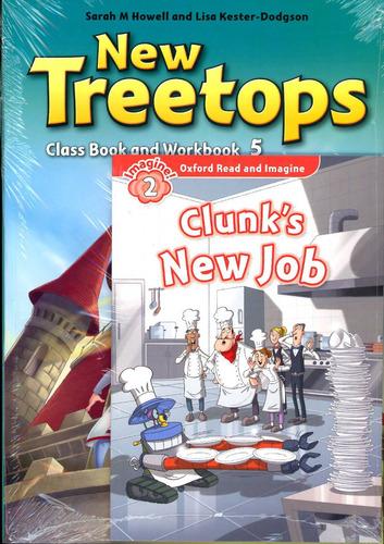 new treetops 5 class book+ workbook + reader 2ed - oxford