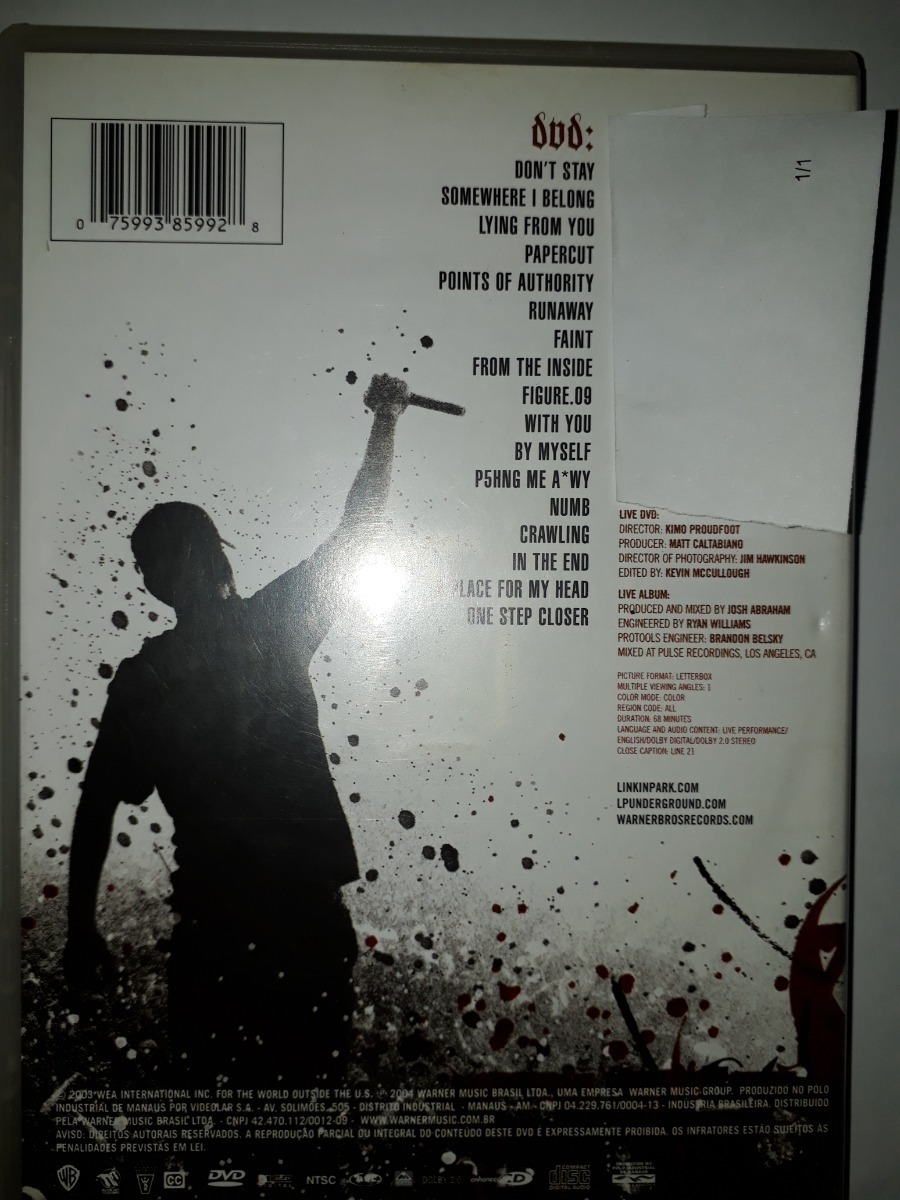 New & Used Music: Linkin Park: Live In Texas Dvd (1541 )