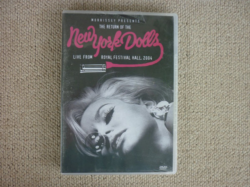 new york dolls - dvd live from royal festival hall 2004