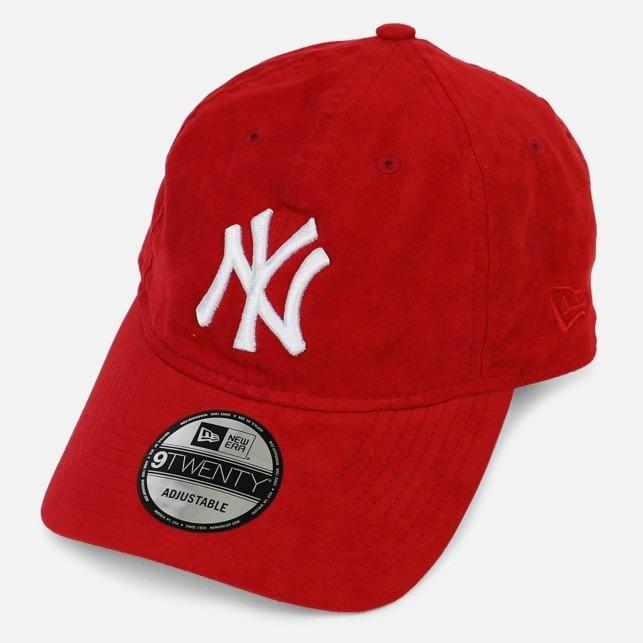 3f33b4e8b3ef2 New York Yankees New Era Gamuza Strapback 9twenty Dadhat Mlb ...
