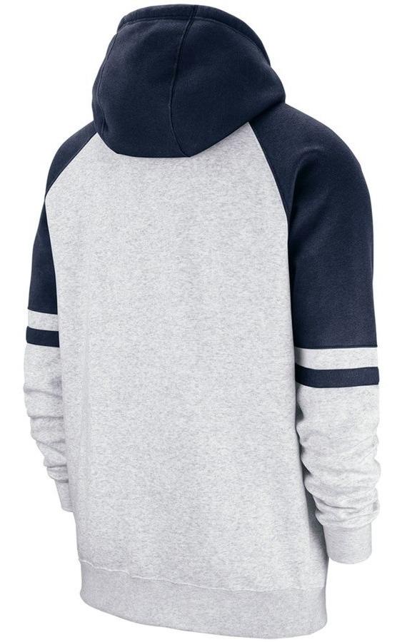 cheap for discount 72edb b0757 New York Yankees Nike Full-zip Hoodie - Heathered Gray