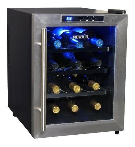 newair aw-121e 12 botellas de vino termoeléctrico enfriador
