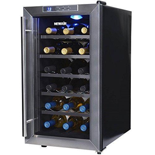 newair aw181e 18 botellas cava de vino termoelectrica negro