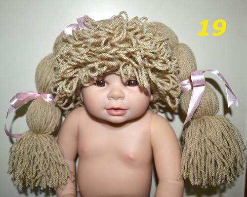 newborn toucas gorros boneca p/ fotos de bebês