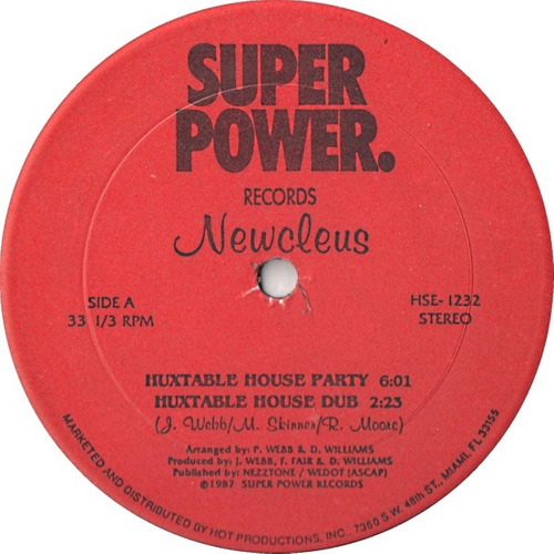 newcleus   12 single  huxtable house party  importado