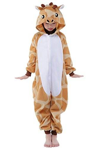 newcosplay homewear childrens giraffe pajamas sleeping wear