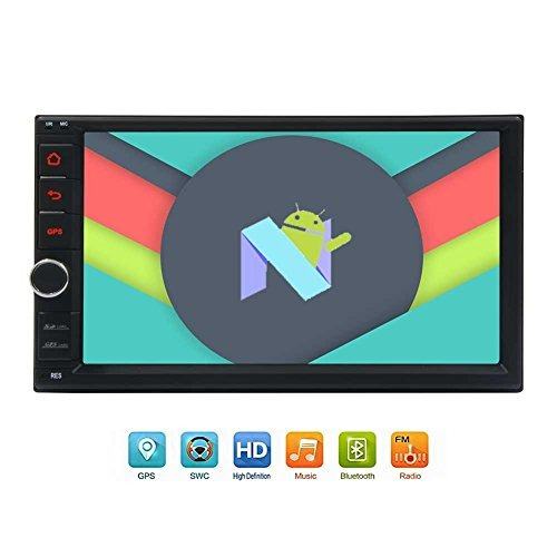 newest 8-core android 7.1 car stereo with 7  touchscreen in