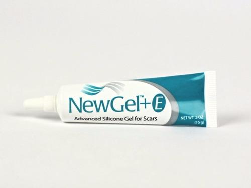 newgel + e gel de silicona para cicatrices y estrías