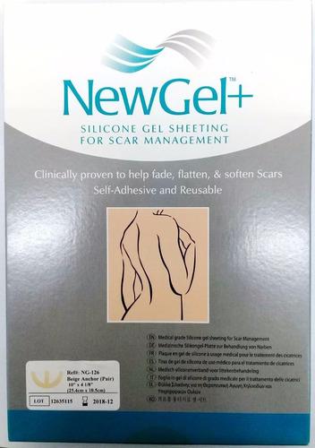 newgel+ tiras para cicatrices mamarias ng-126 beige anchor