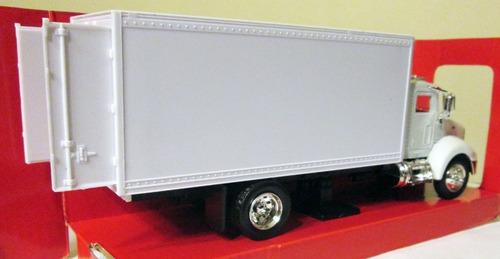 newray camión peterbilt escala 1:43 mide 21 cm ruedas d goma