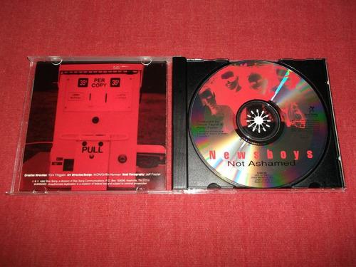 newsboys - not ashamed cd imp ed 1992 mdisk