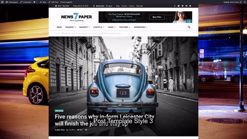 newspaper 7 tema wordpress portal de notícias (atualizado)