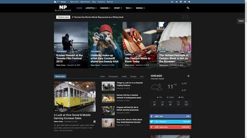 newspaper 9.7 tema wordpress portal de notícias (atualizado)