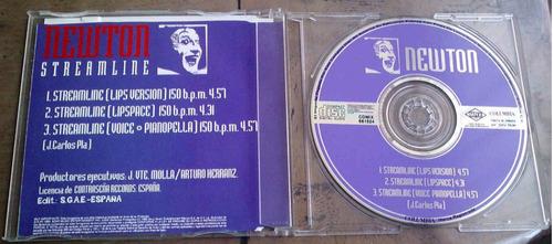 newton streamline cd single cd single 1995 c/3 versiones  bv