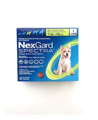 nexgard spectra 7.6-15kg 1 tableta mejor que bravecto