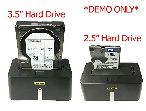 nexin nex-ds1u3 estación de acoplamiento de disco duro usb