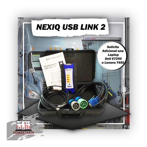 nexiq 2 escaner para camiones (incluye software) original us