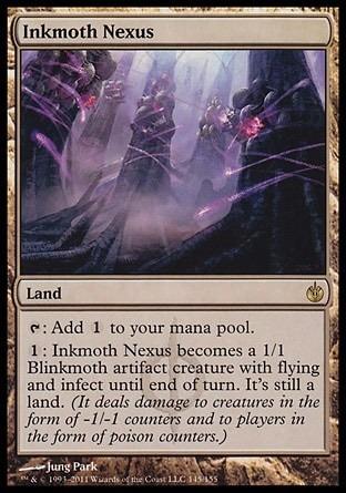 nexo de mosco-tintas / inkmoth nexus - mirrodin sitiada