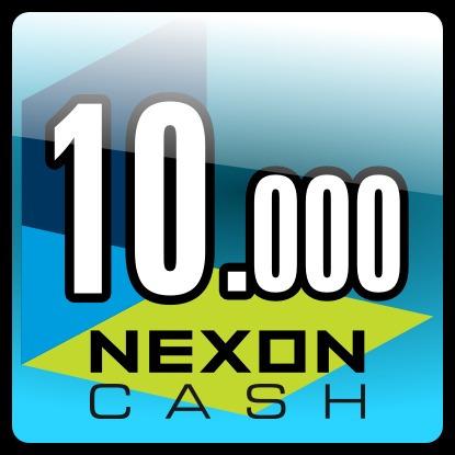 nexon eu 10000 nx cash , maplestory game card