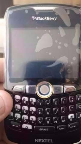 nextel blackberry curve 8350 idem preto ou vinho novo anatel